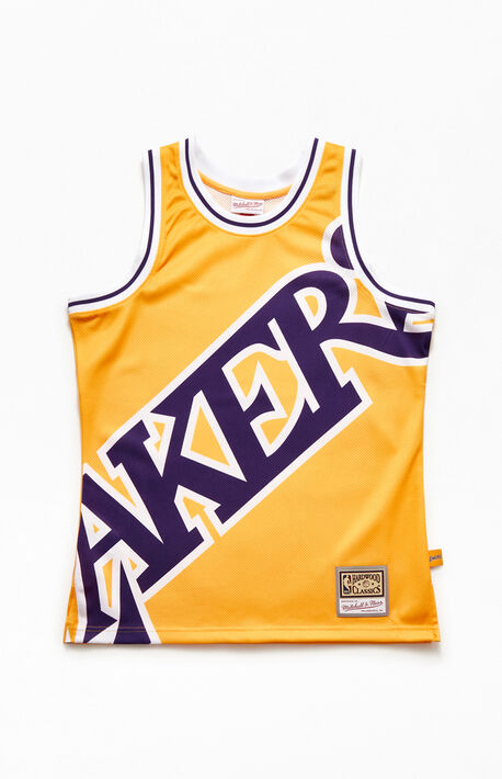 Big Face Lakers Basketball Jersey