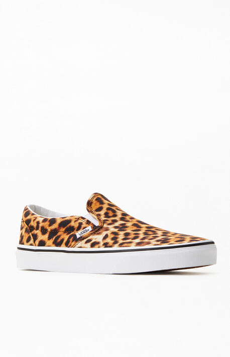 Leopard Classic Slip-On Sneakers