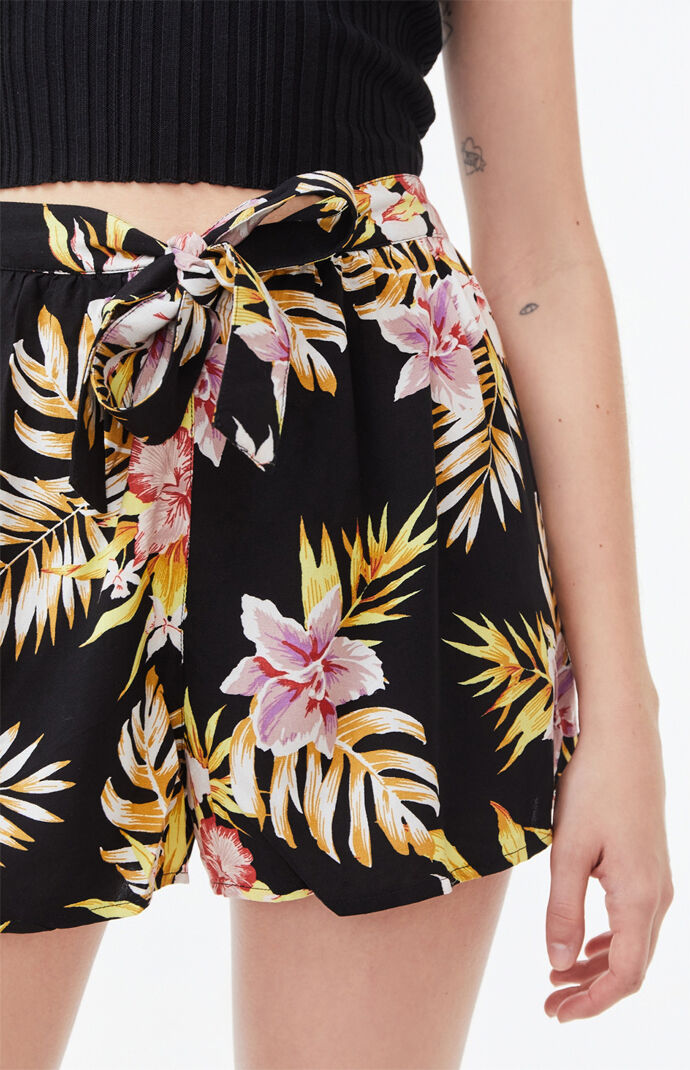 Forget Yourself Tropical Shorts