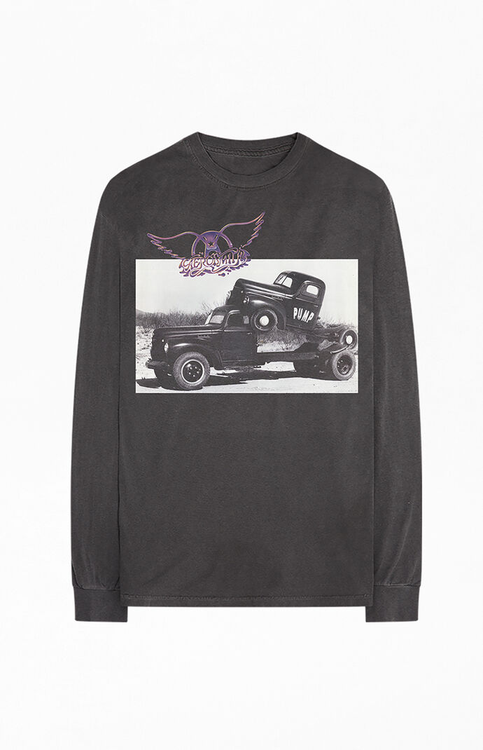 Aerosmith Truck Long Sleeve T-Shirt