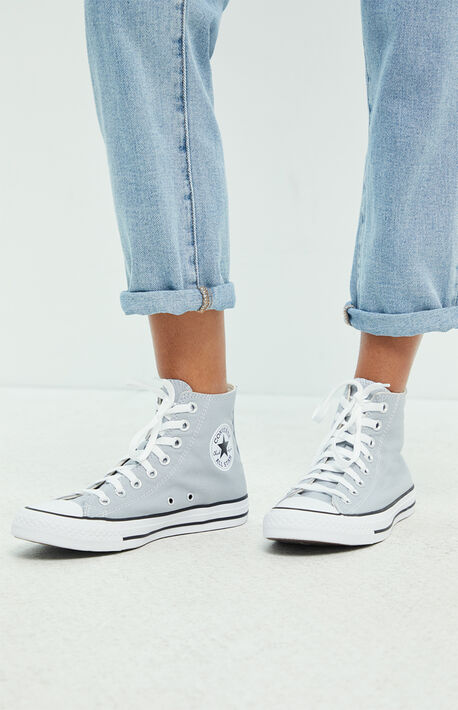 Women's Grey Chuck Taylor All Star Sneakers