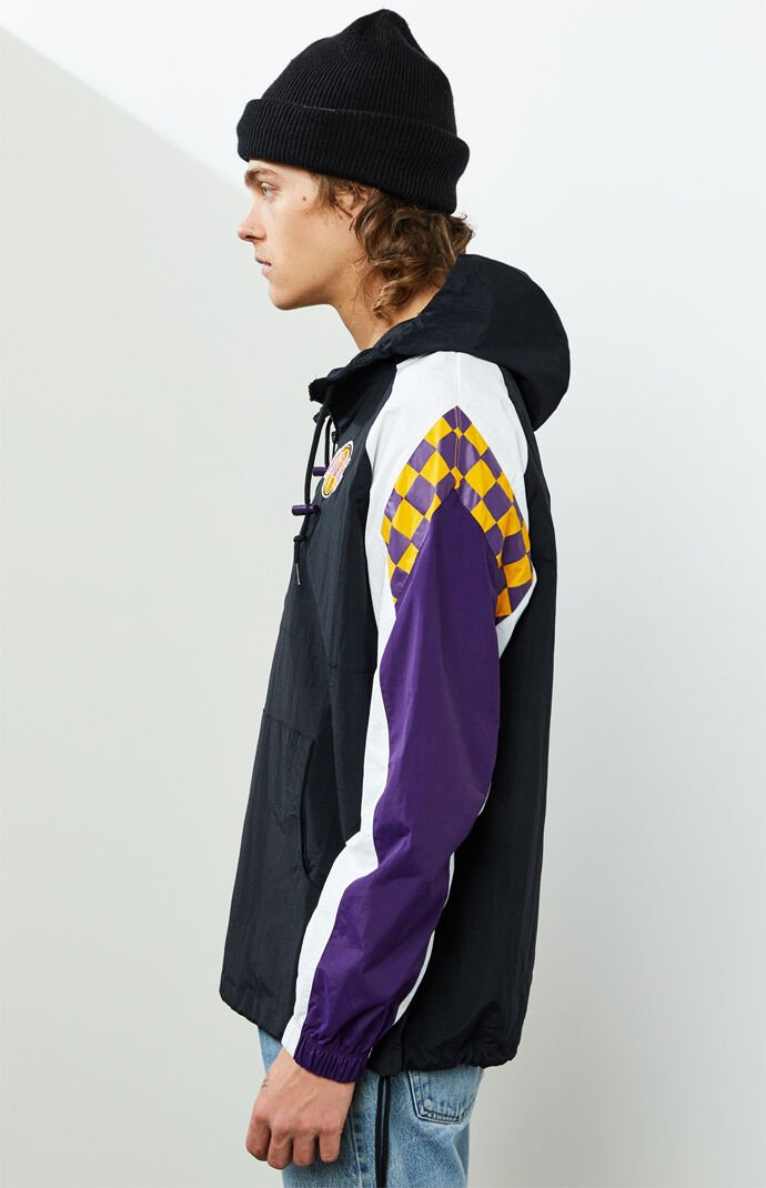 Lakers Half Zip Anorak