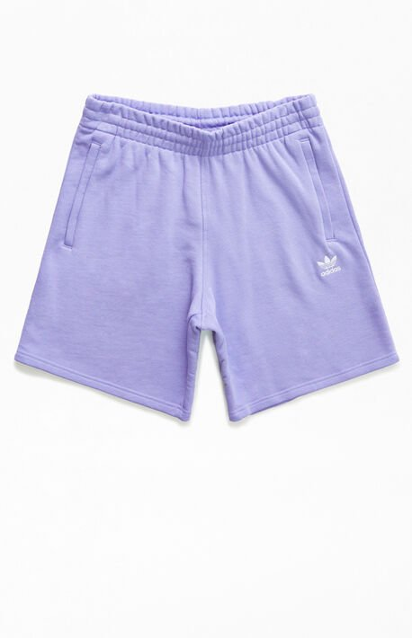 Purple Essential Sweat Shorts