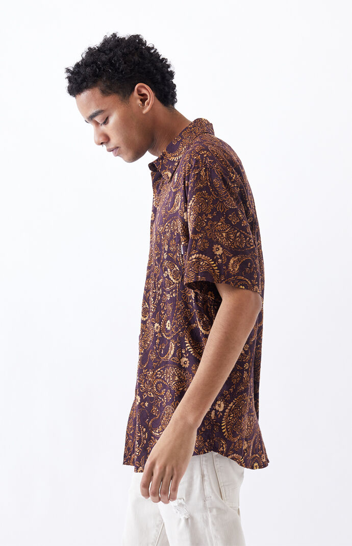 Sumbawa Short Sleeve Button Up Shirt