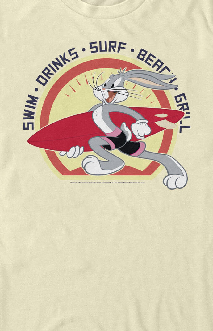 Bugs Bunny Surfing T-Shirt