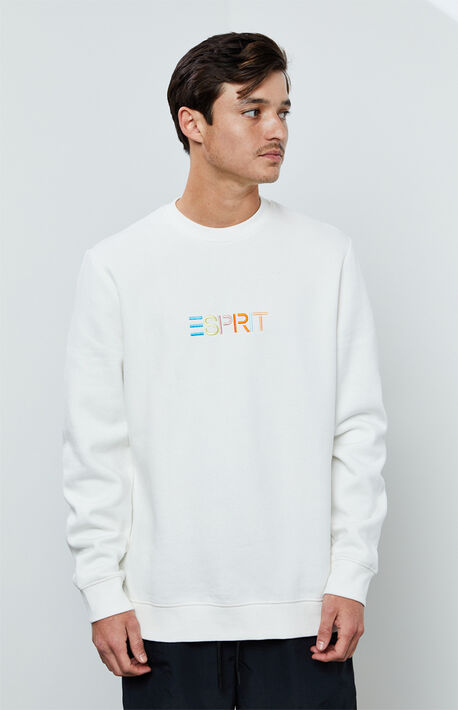 Multicolor Logo Crew Neck Sweatshirt