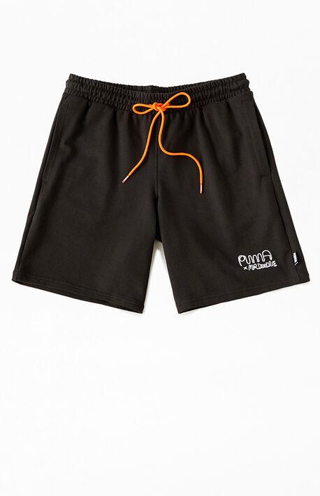 x Mr. Doodle Colorblock Sweat Shorts