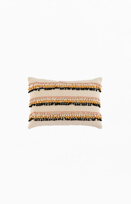 Kuzco Pom Pom Rectangle Square Pillow