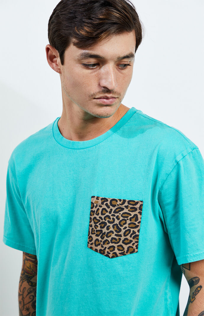 Pratt Leopard Pocket T-Shirt