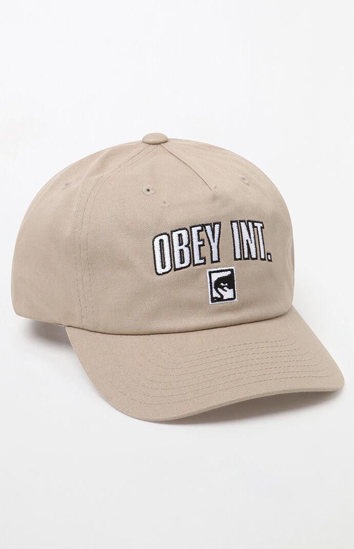 441f4120191 OBEy International Strapback Dad Hat