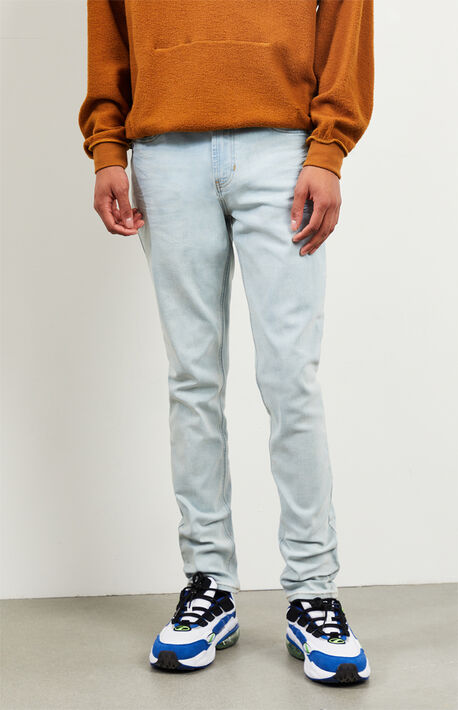Light Stacked Skinny Jeans