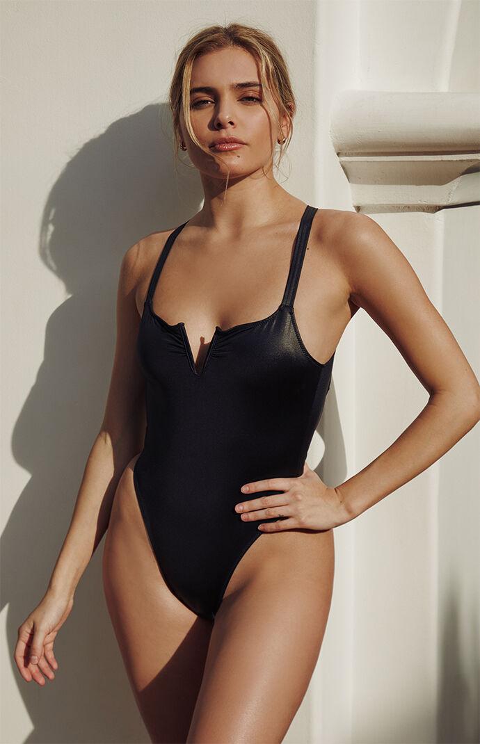 Black Pam One Piece Swimsuit