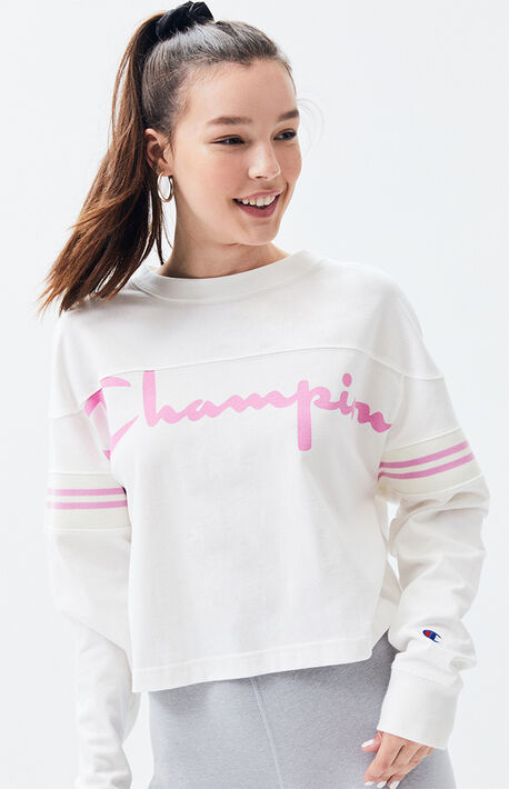 f3ebc544 Exaggerated Long Sleeve T-Shirt