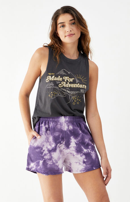 Layla Tie-Dyed Shorts