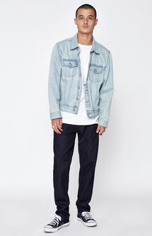 Straight Comfort Stretch Rinse Jeans