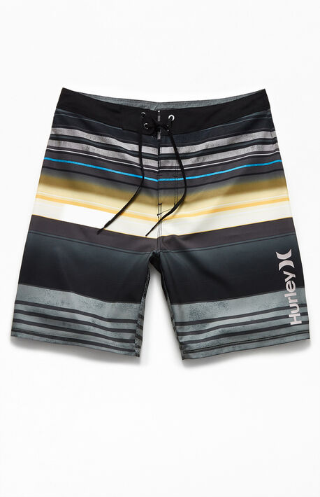 "Costa Rica Striped 20"" Boardshorts"