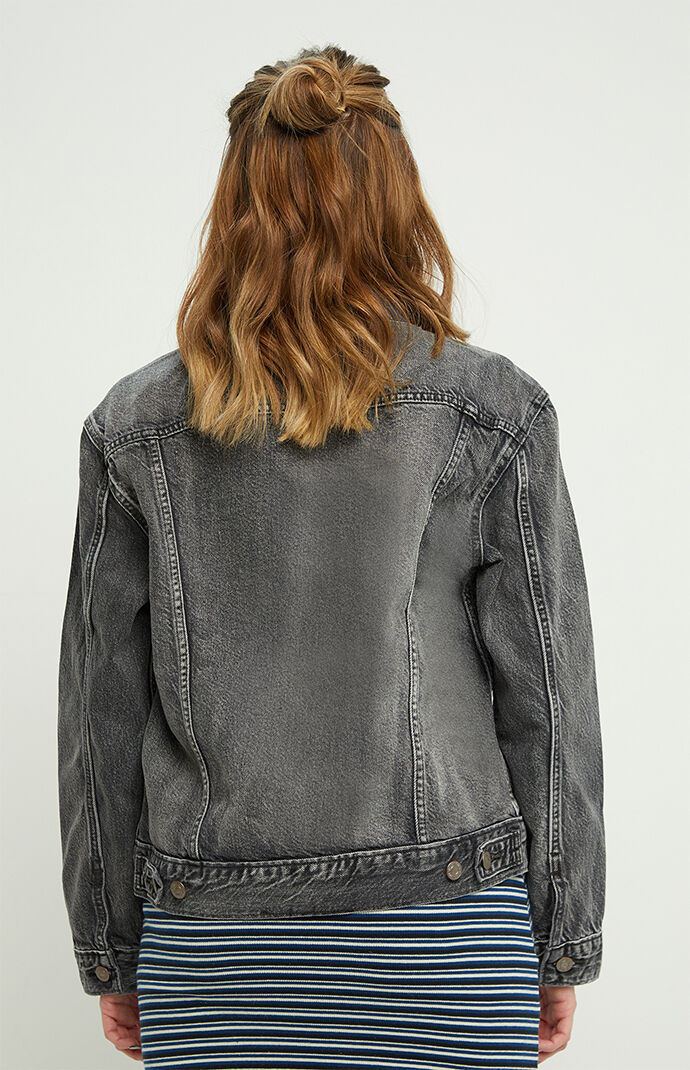 Ash Black Ex Boyfriend Trucker Jacket