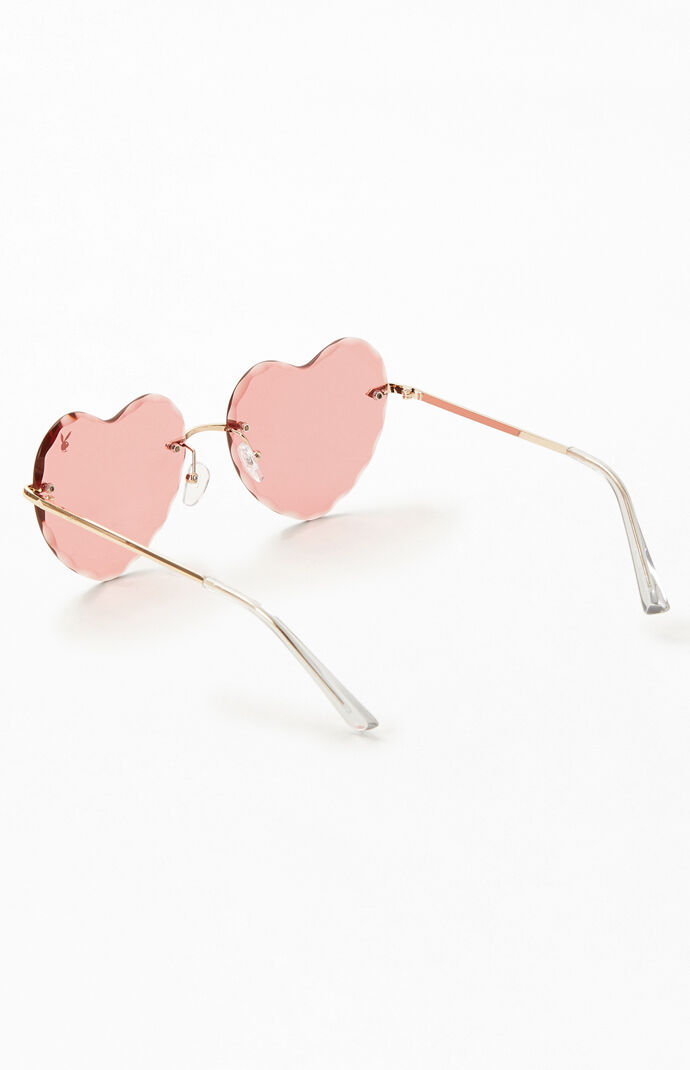 By PacSun Heart Frame Sunglasses