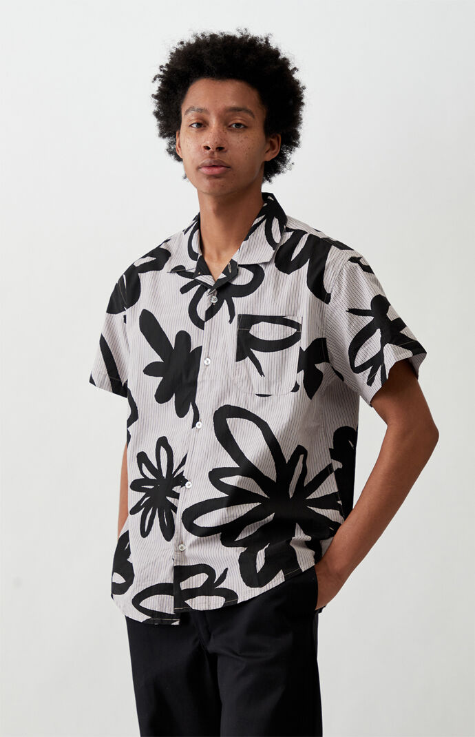 Tommy Short Sleeve Button Up Organic Shirt