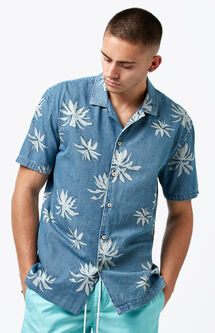 Fern Short Sleeve Button Up Shirt