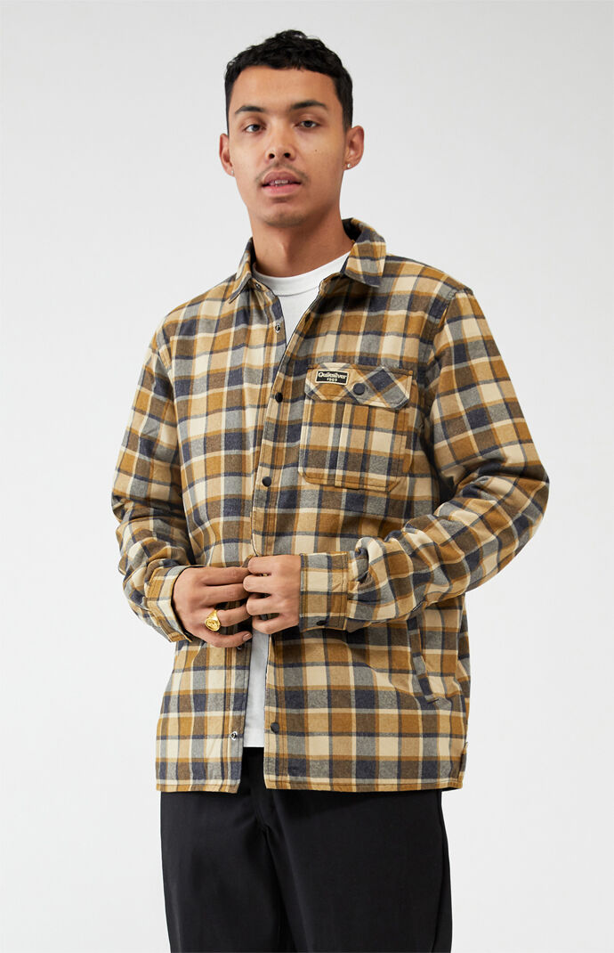Wildcard Reversible Water-Resistant Flannel Shirt