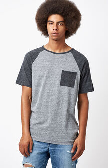 Parker Raglan Pocket T-Shirt