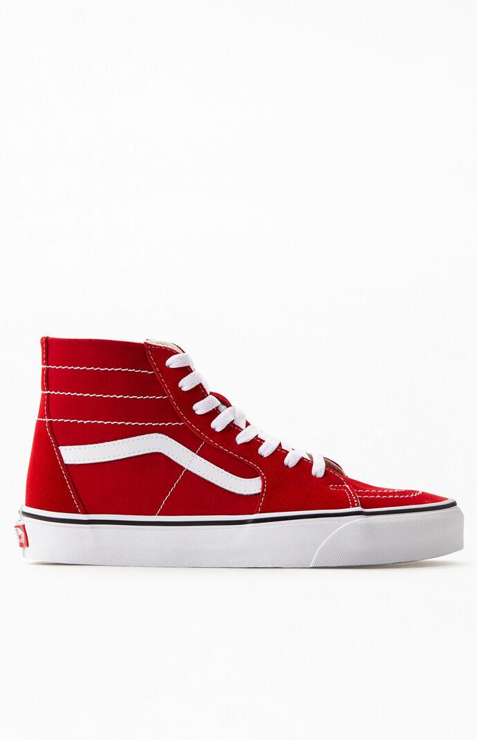 Red SK8-Hi Tapered Sneakers