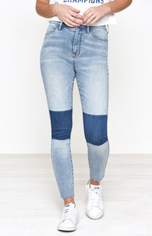 Super High Rise Ankle Jeggings