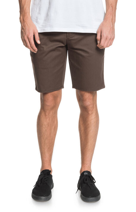 Brown Everyday Union Stretch Chino Shorts