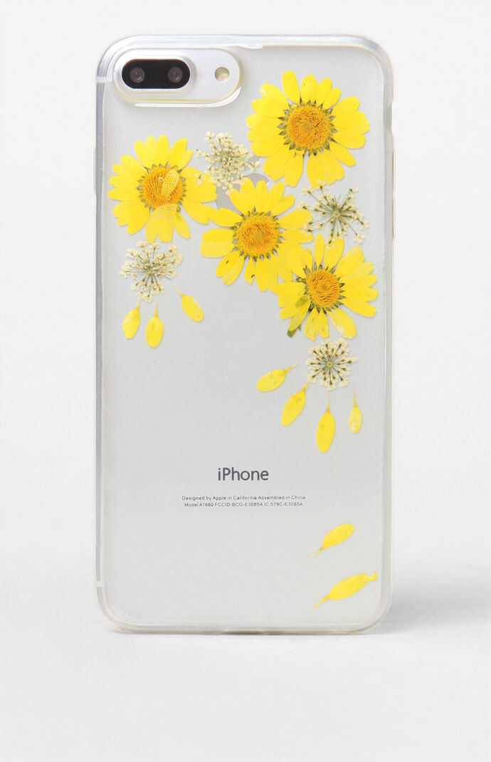 Recover Womens Sunflower iPhone 6/7/8 Plus Case - Yellow 8049819