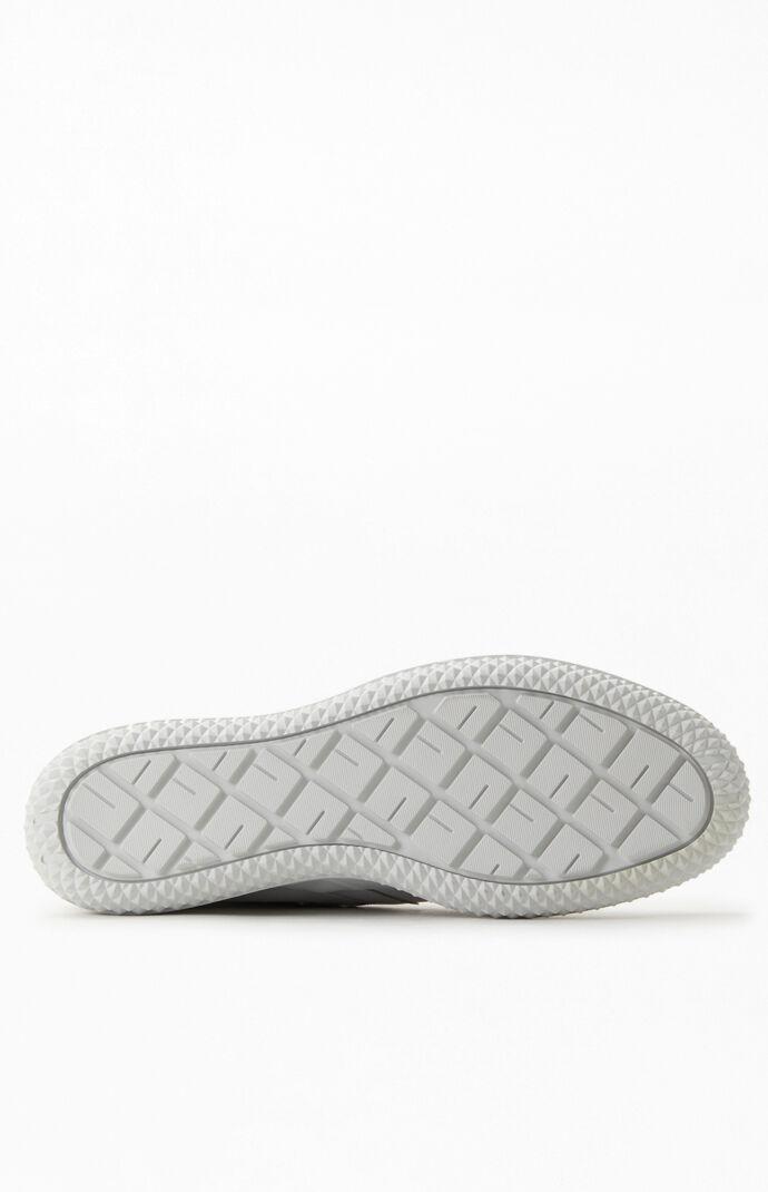 White Bosey MC High-Top Shoes