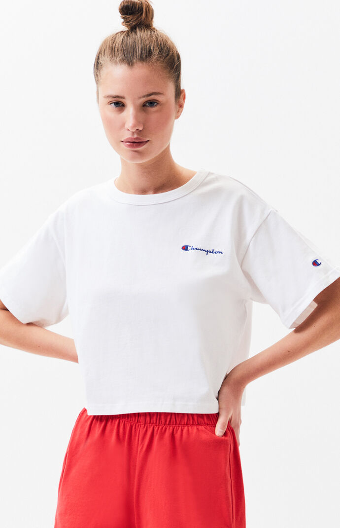 Logo Cropped T-Shirt