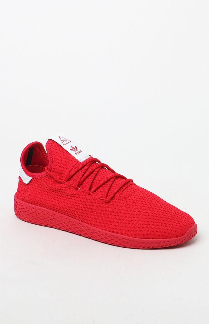 adidas x Pharrell Williams Red Tennis HU Shoes 6727895
