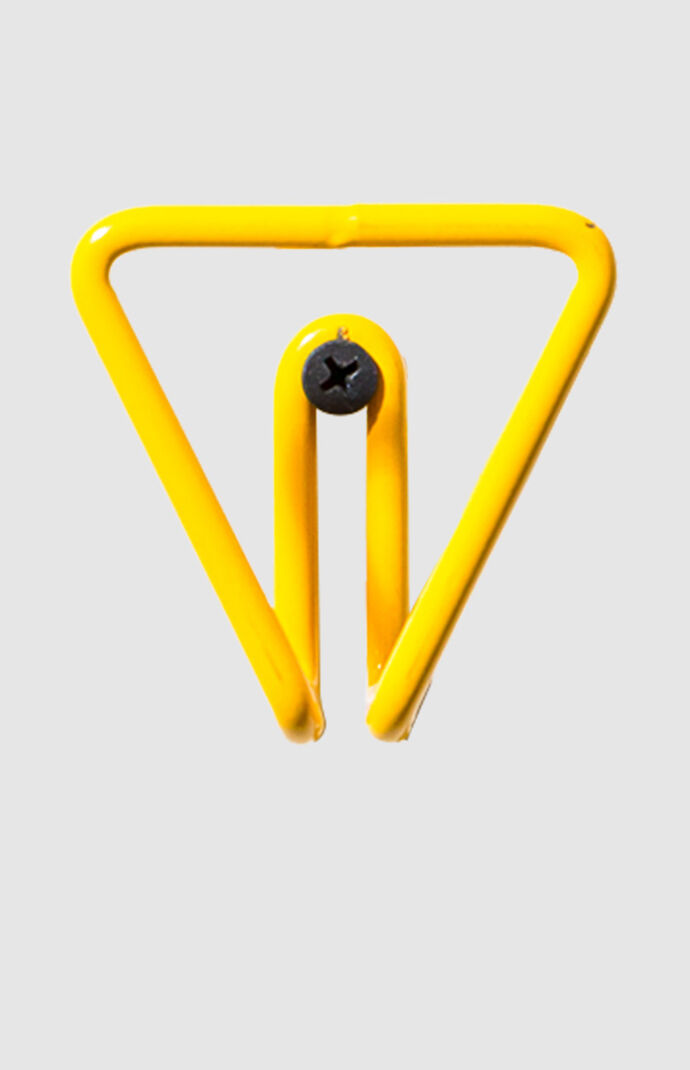 Yellow Triangle Wall Hook