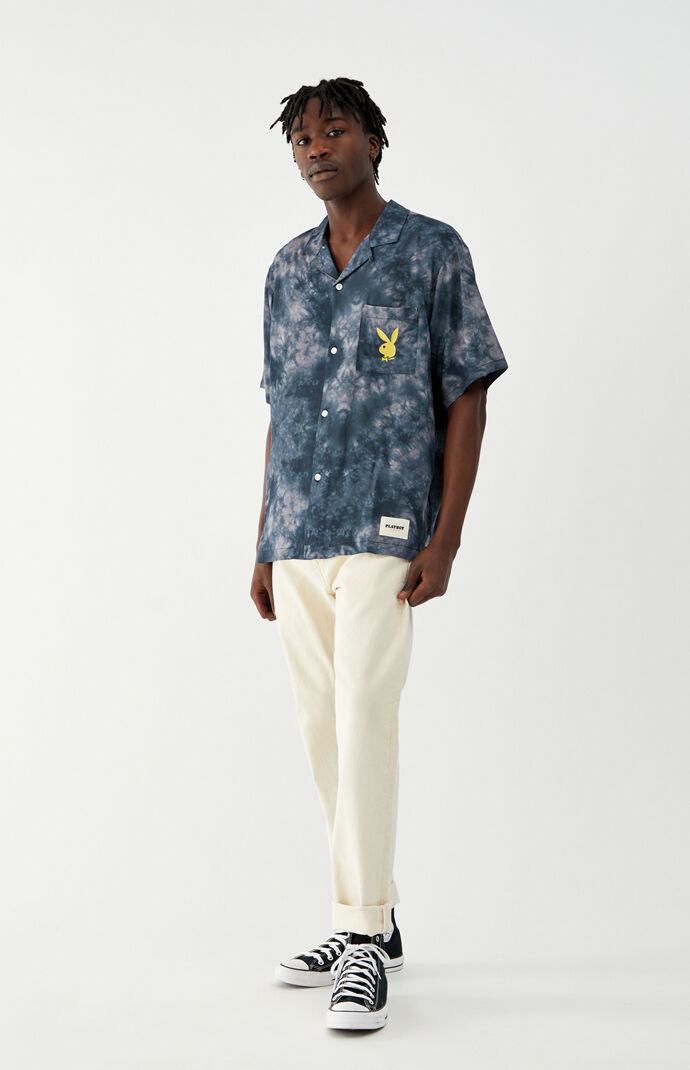 By PacSun Laid Out Button Up Shirt