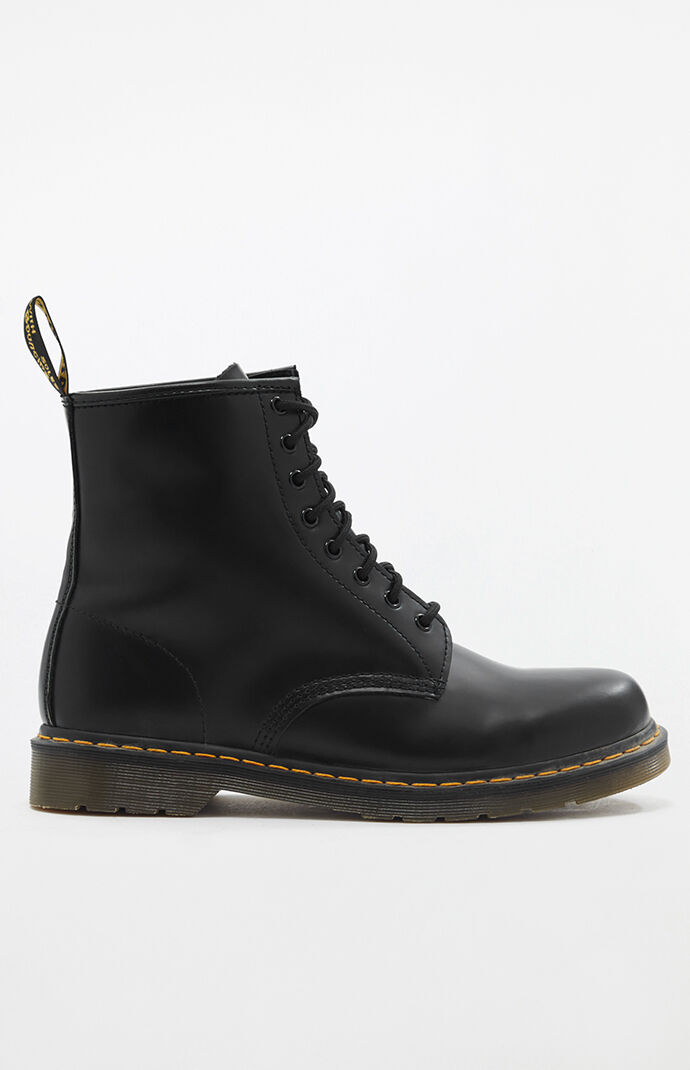 1460 Smooth Leather Black Boots