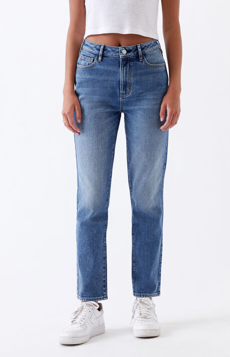 Medium Indigo Mom Jeans