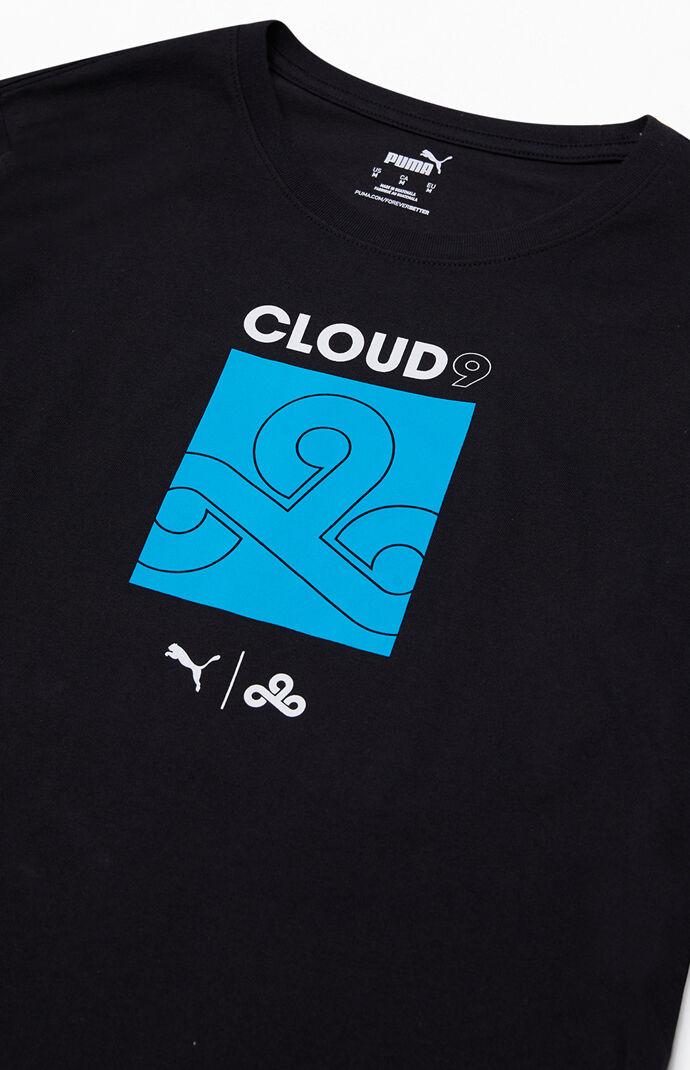 x Cloud9 Black Neon Long Sleeve T-Shirt