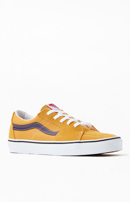 Gold Sk8-Low Shoes