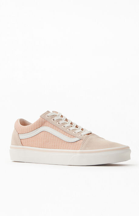 Cream Old Skool Shoes