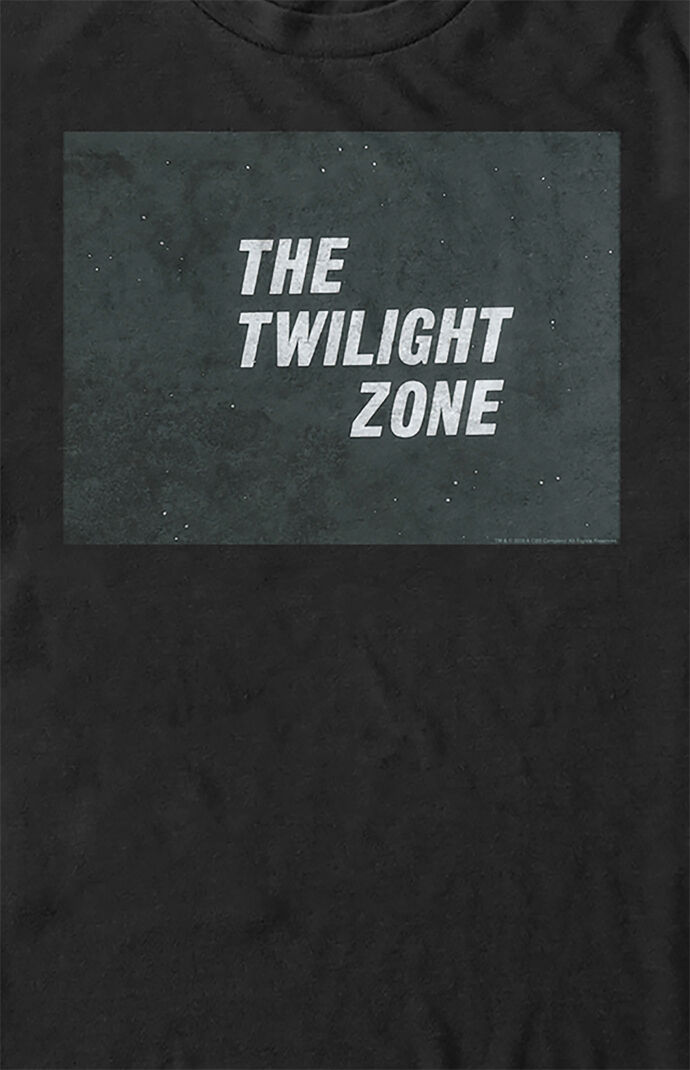 Twilight Zone Simple Text T-Shirt
