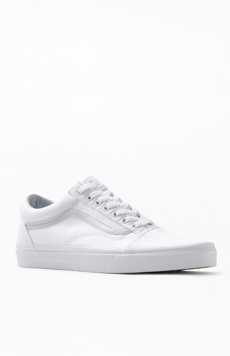White Old Skool Shoes