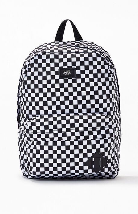 Black & White Checker Old Skool III Backpack