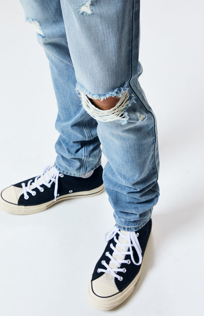 Medium Ripped Skinny Jeans