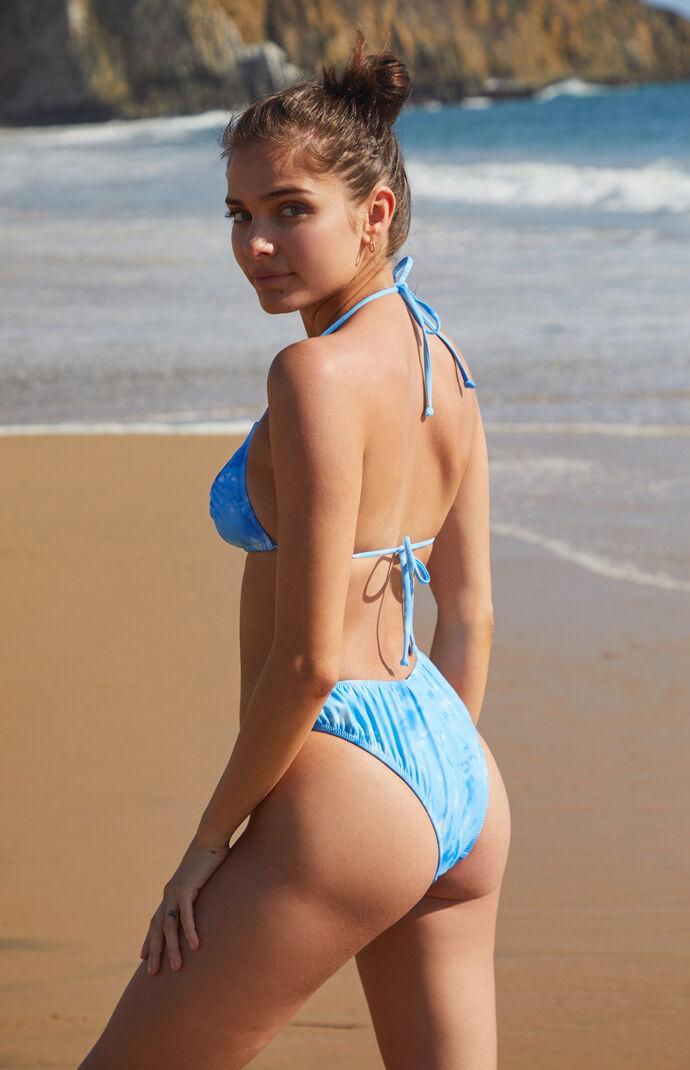 Tie Dye Camila Ruched Bikini Bottom