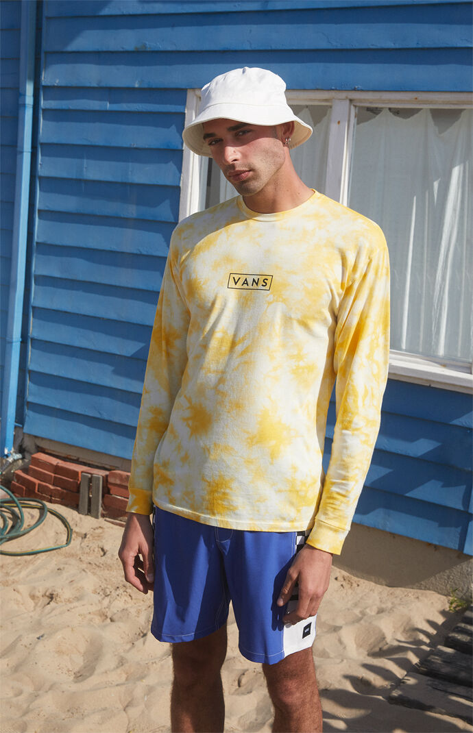 Easy Box Tie-Dyed Long Sleeve T-Shirt