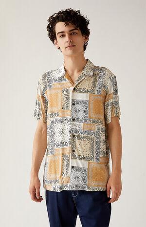 Bandana Resort Camp Shirt image number null