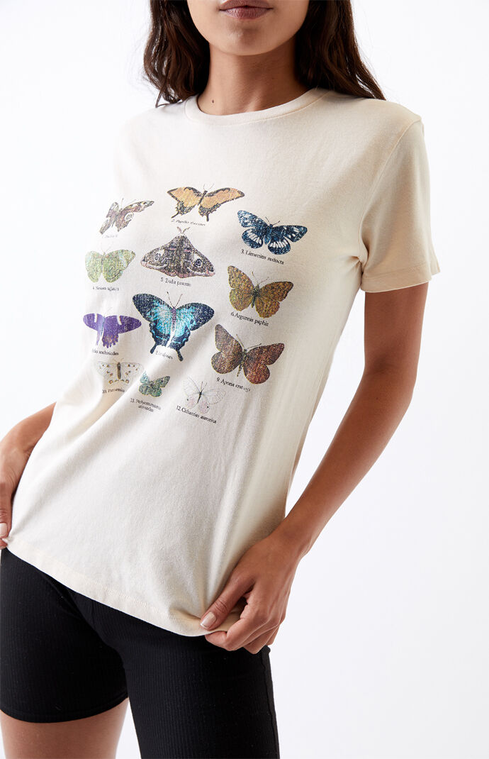 Butterfly Recycled T-Shirt