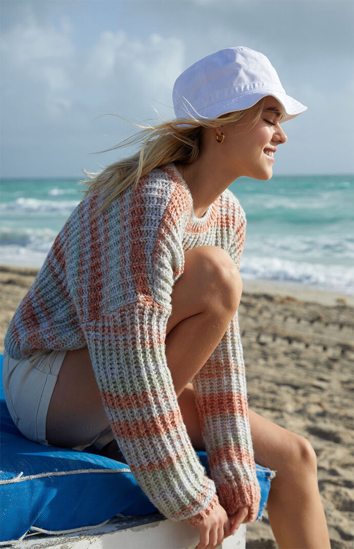 Multicolor Crew Neck Sweater