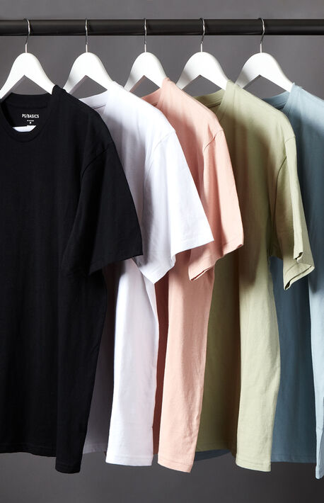 5-Pack Regular Fit T-Shirts